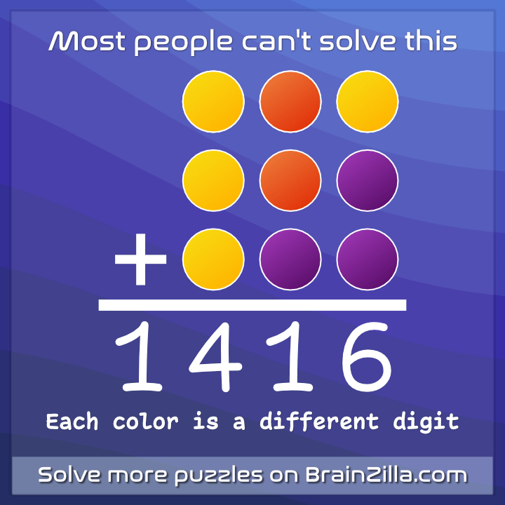 An Interesting Sum Puzzle Brainzilla Blog
